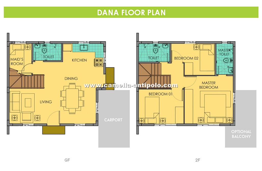 Dana House for Sale in Camella Sierra Metro East