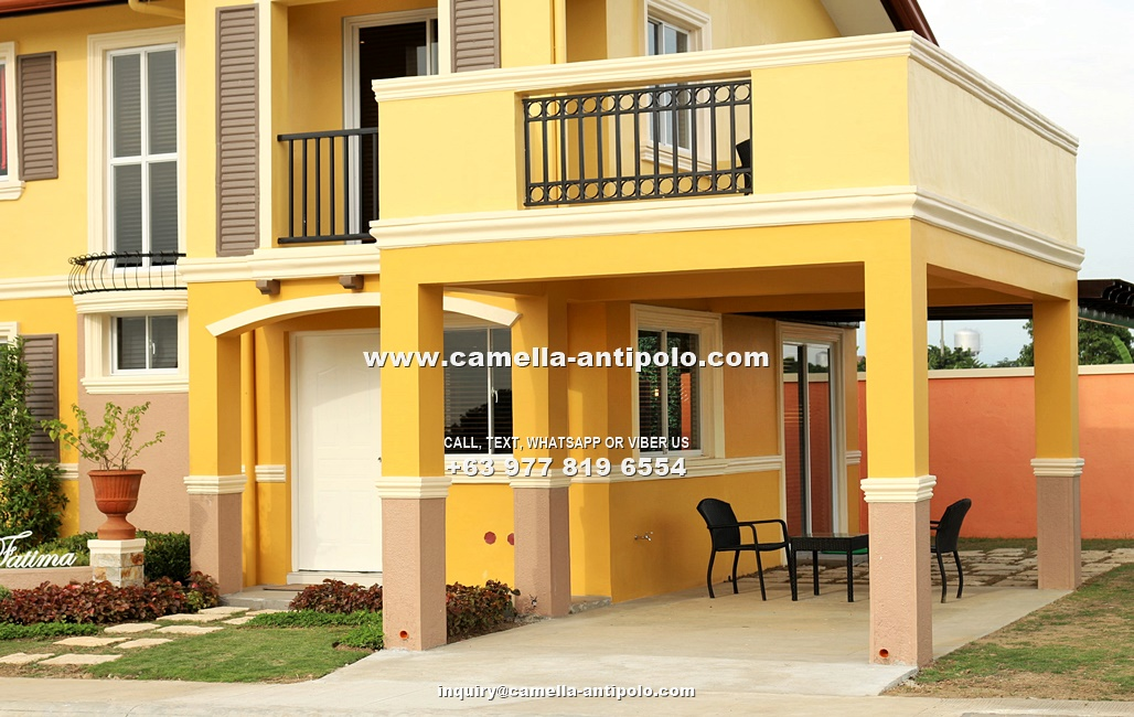 Fatima House for Sale in Camella Sierra Metro East