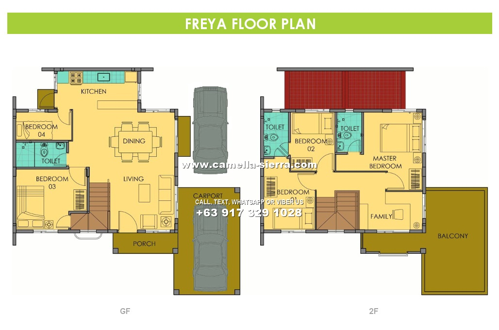 Freya House for Sale in Alabang Evia City