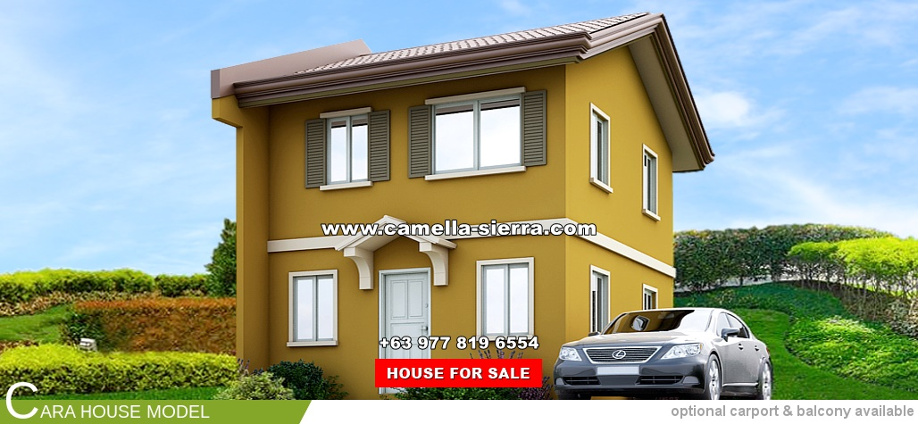 Camella Sierra Metro East Cara House And Lot For Sale In