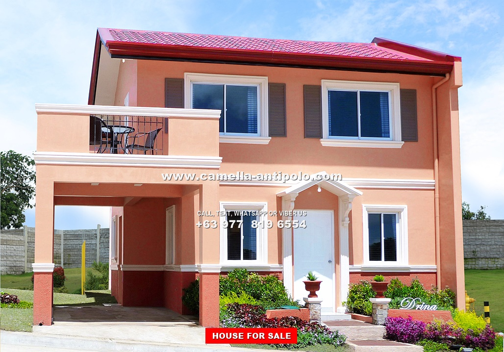 Camella Sierra Metro East Drina House And Lot For Sale In Antipolo