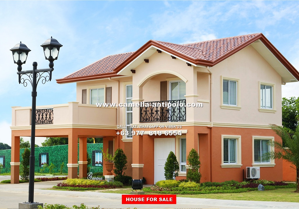 Gavina House for Sale in Camella Sierra Metro East