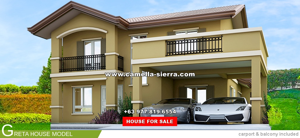 Greta House for Sale in Camella Sierra Metro East